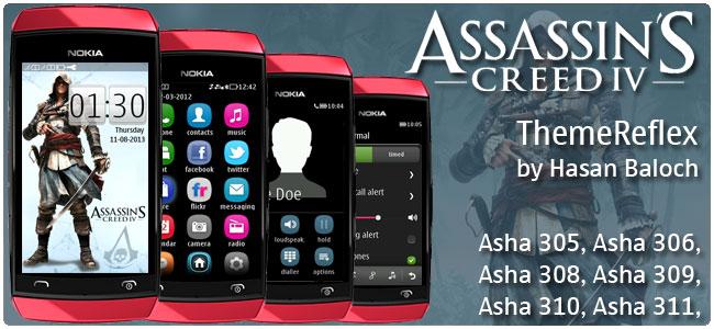 Assassin's Creed IV: Black Flag Theme for Nokia Asha 305