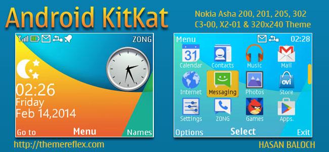 Nokia C3 analog clock themes – ThemeReflex