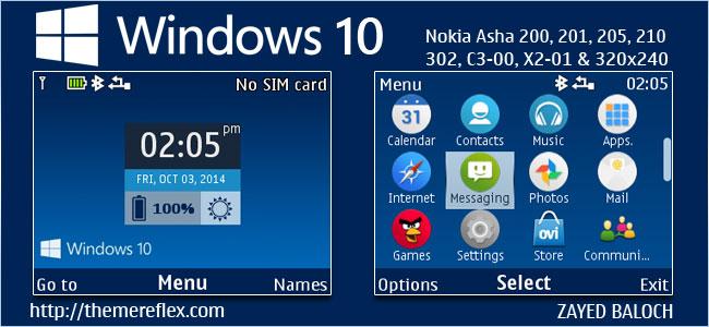 Windows 10 Clock Theme – ThemeReflex