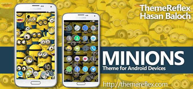 Minions HD Theme for Nokia X, Nokia XL, Samsung, Samsung