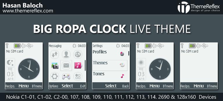 Big Analog Clock – ThemeReflex